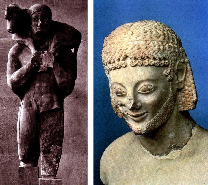 The Rampin Head: Arcaico Hasta, Griego Arcaico, Griego Teodosio, Ancient Civilizations, Historical Arts, Arte Griego, Art History, Greek Art