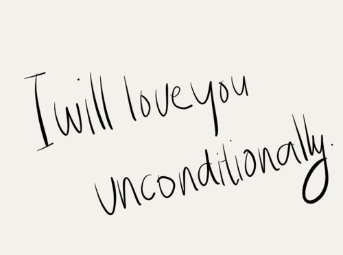 Katy Perry's Unconditionally (this line came from that song) describes the kind of love I give to the people that matter to me. ❤