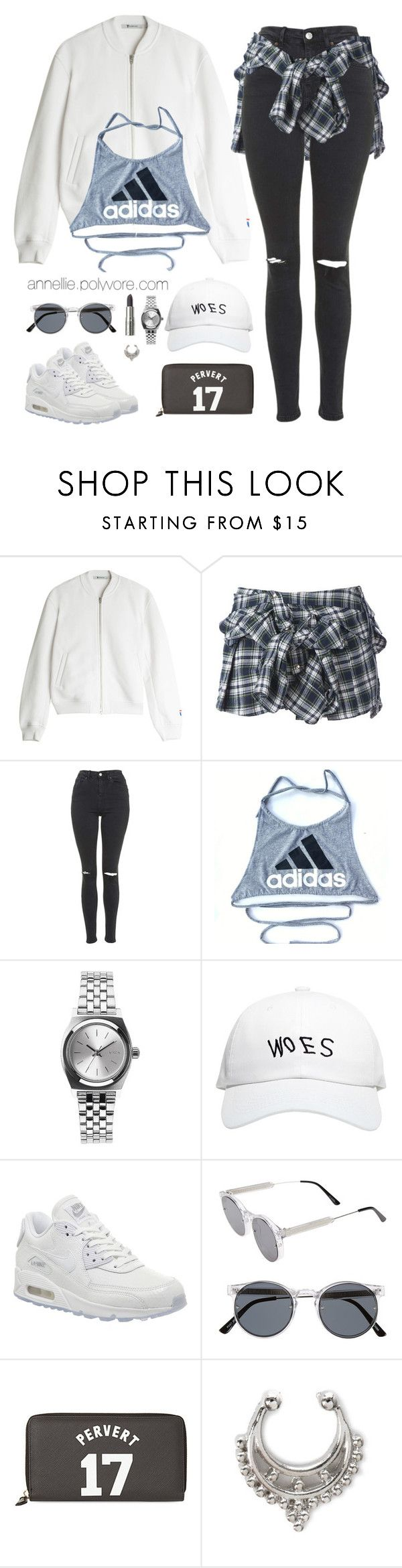 """""""Sporty 17"""" by annellie ❤ liked on Polyvore featuring T By Alexander Wang, Faith Connexion, Topshop, adidas, Nixon, October's Very Own, NIKE, Spitfire, Givenchy and women's clothing"""