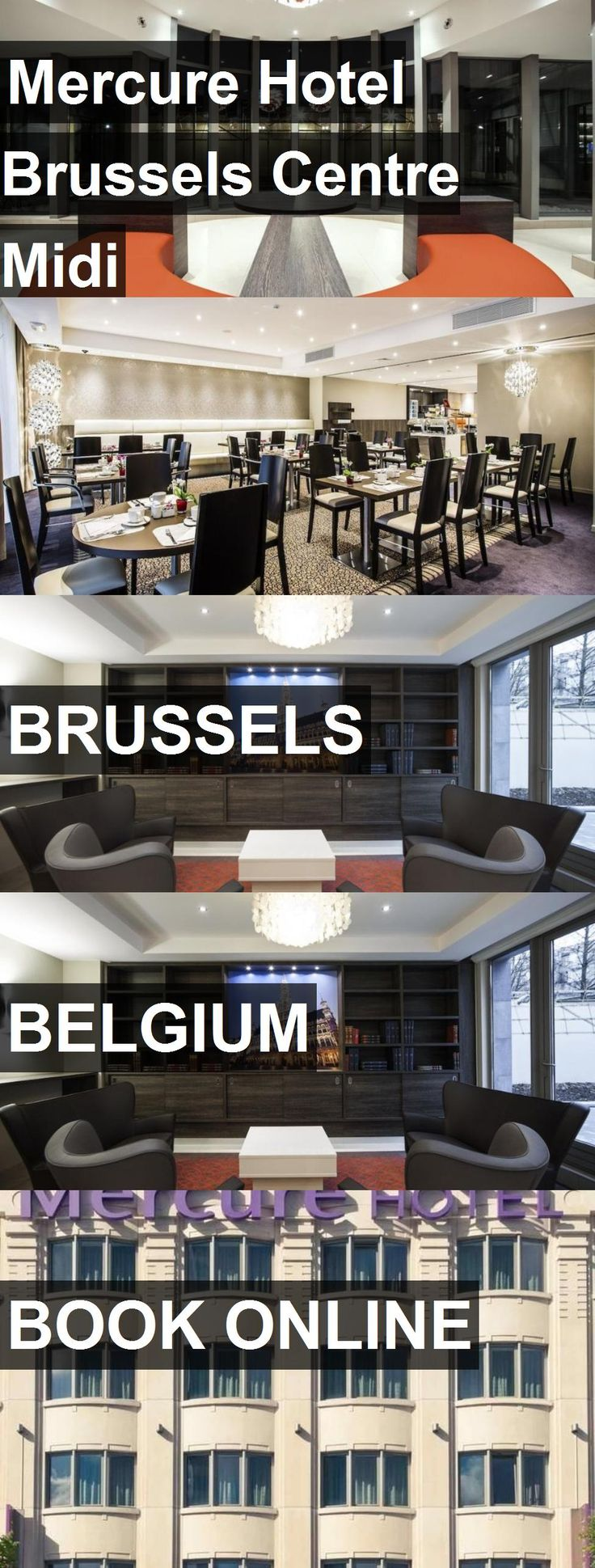 Hotel Mercure Hotel Brussels Centre Midi in Brussels, Belgium. For more information, photos, reviews and best prices please follow the link. #Belgium #Brussels #MercureHotelBrusselsCentreMidi #hotel #travel #vacation