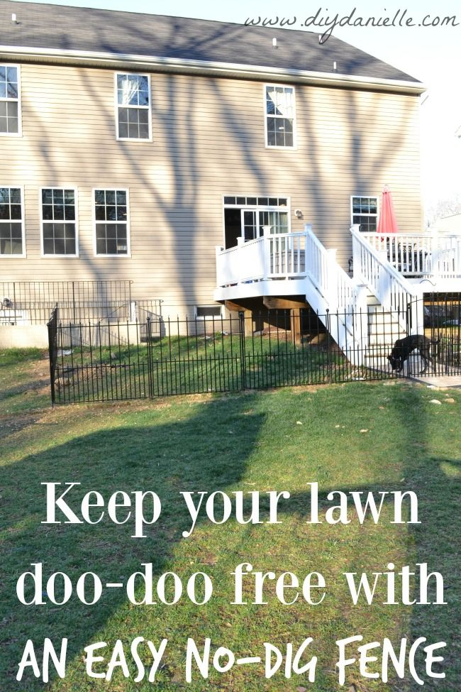 How to Install an Easy No-Dig Fenced Dog Run in One Day ...