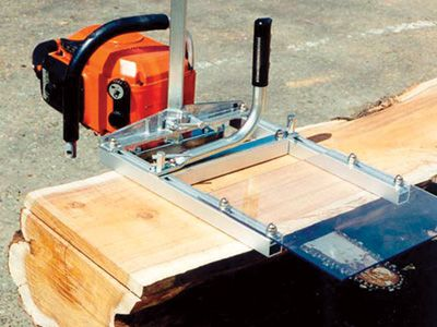 Lightweight and Easy-to-Use Saw Mill - Granberg Chain Saw Mill $140
