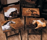 horse tv trays: Composite Tv, Tv Trays, Running Horses, Country Girl, Country Kitchen, Horse Tv, Western Decor, Rustic Country Western, Horses Tv