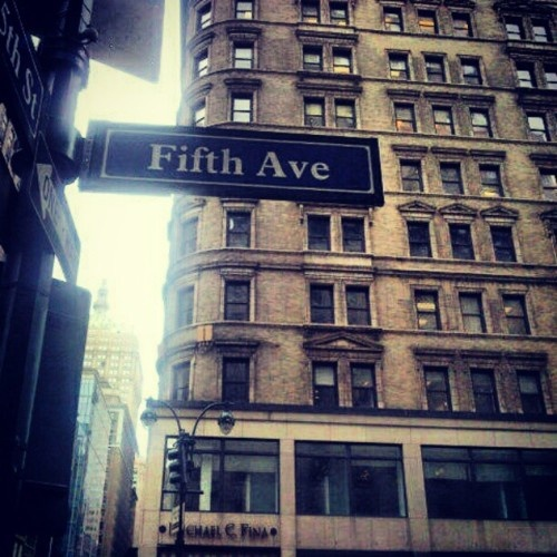 Fifth Ave,New York!