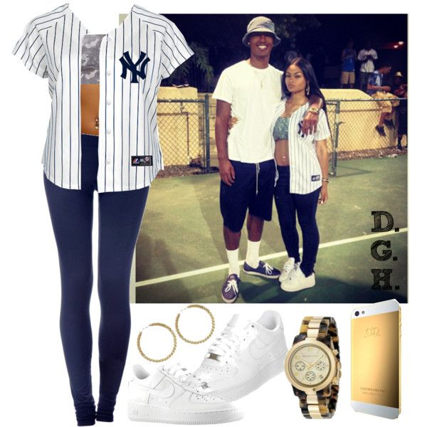 Yankee Air Force 1 Kickin' it!, created by dopegenhope on Polyvore