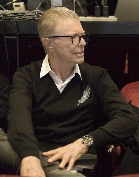 Watch That Man — David Bowie - Lazarus Rehearsals 2015