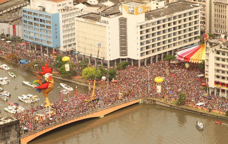 Galo Da Madrugada, Recife, Brazil