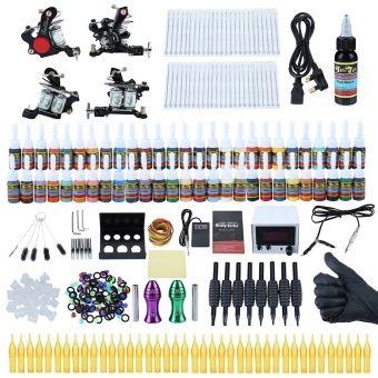 ลดราคา  SH Solong Professional Complete Tattoo Kit Shader Liner Wrap CoilsGun Equipment Machine Needles Power Supply Color Ink Set Blacksize:uk plug Black - intl  ราคาเพียง  3,273 บาท  เท่านั้น คุณสมบัติ มีดังนี้ Solong Professional Complete Tattoo Kit Shader Liner Wrap CoilsGun Equipment Machine Needles Power Supply Color Ink Set Description: Exquisite workmanship, smooth and compact surface, powerfulperformance. High-quality tattoo inks approved, can be used in a safetyway. Easily apply…