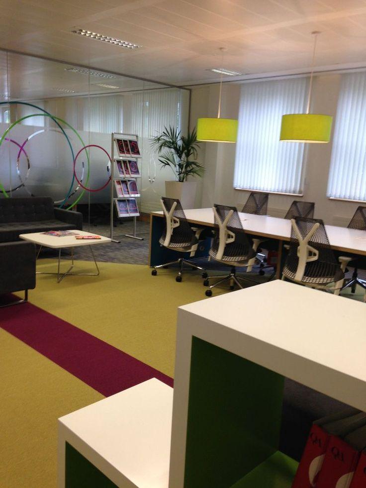 Newly renovated software area - Willis Towers Watson - Reigate, England (UK)