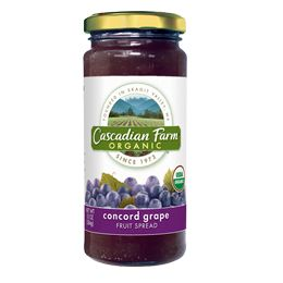 Cascadian Farm | Products | Fruit Spreads | Concord Grape (when looking for jelly/jam check for high fructose corn syrup)