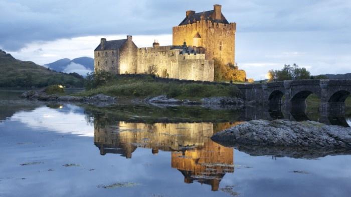 Vacanza al Castello di Eilean Donan