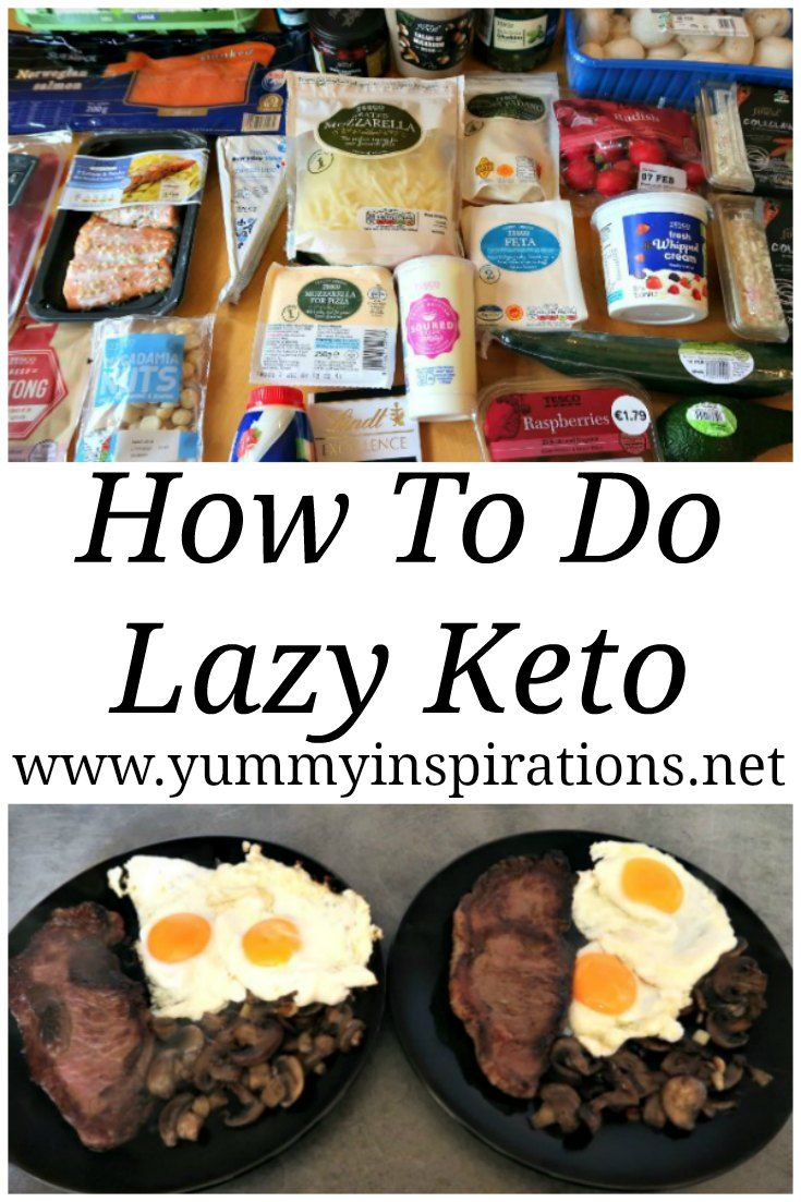 How To Do Lazy Keto - What is Lazy Keto? Cooking Lazy Keto ...
