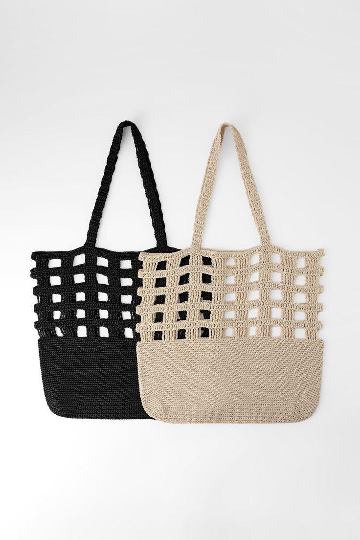 Sac seau tressé – Sacs – #Bag #Braided #Bags