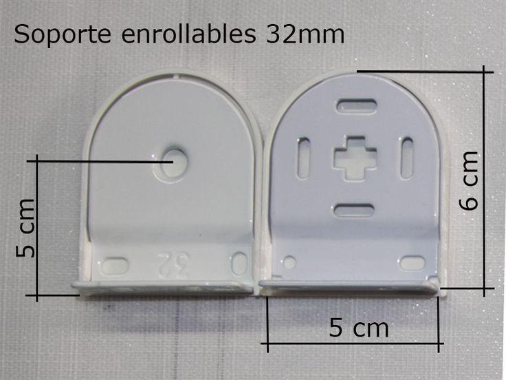 126 best images about enrollables roller blinds on pinterest - Soportes para estores ...