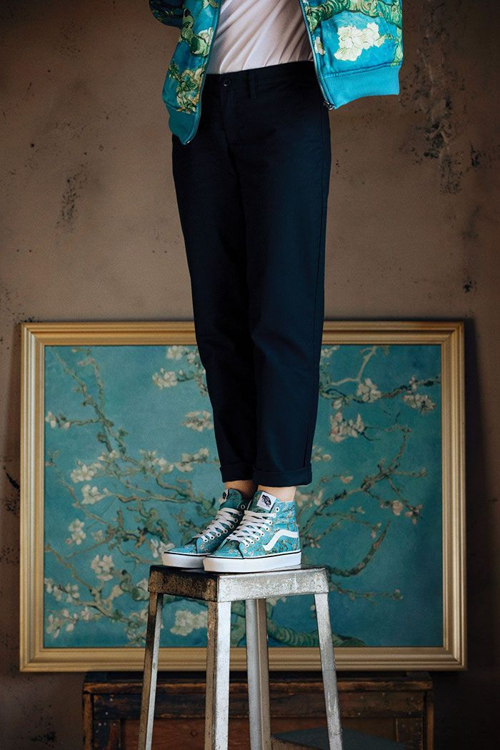 bc7e1f98c3 Vans Partners With The Van Gogh Museum To Create New Clothing Line And  We re In Love With The Shoes