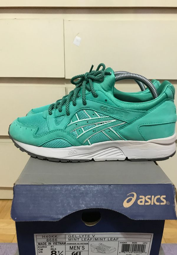 Asics Gel Lyte V Leaf Green Teal Sz8 5 Used Clothing Shoes