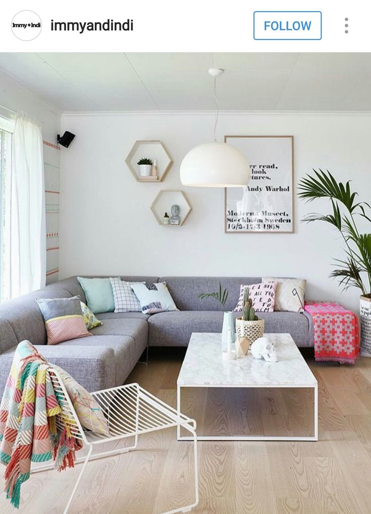 Save this home inspo to see how to incorporate color a minimalist decor scheme