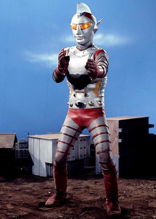ジャンボーグA. I forget which Ultraman this is... Ultra Seven?