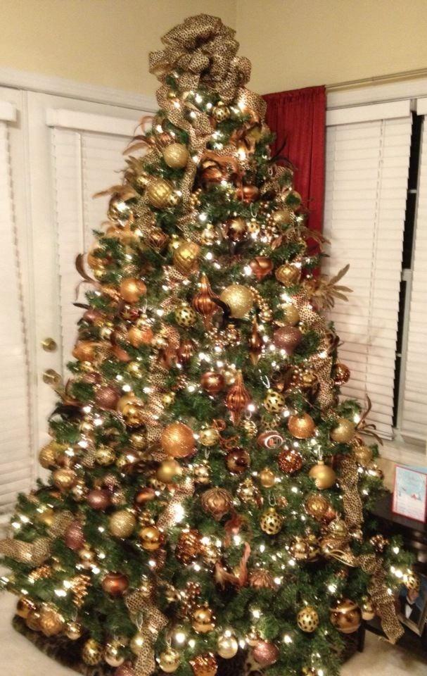 My Christmas tree...Oh sweet leopard tree...meow! | Leopard Love ...