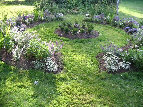 circle garden design - Google Search | Garden inspiration | Pinterest
