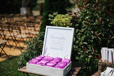 Lavand bags. Boda en el campo organizada por Detallerie. Bolsas de lavanda. Outdoors wedding by Detallerie.
