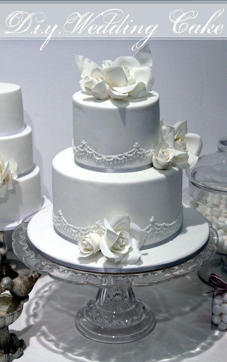 Como Fazer hum bolo de Casamento de Dois níveis com Faye Cahill!