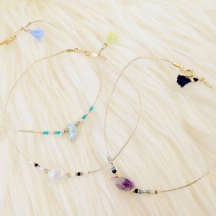 アンクレット  http://amamhandmade.buyshop.jp anklet gemstone