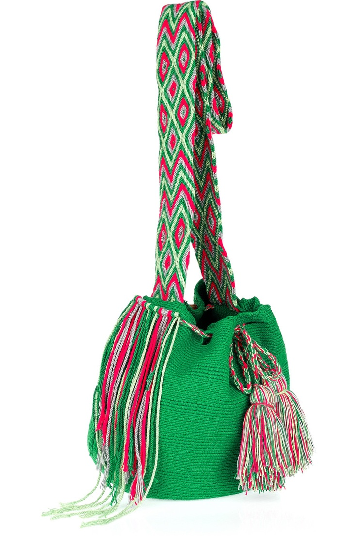 Wayuu Taya - sewn by hand, support's the brands non-profit foundation in improving the lives of the Wayuu community in Latin America.