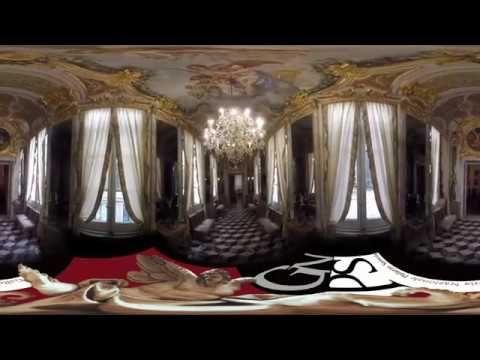 Sala degli Specchi di Palazzo Spinola - pura arte - Rolli; #rolli