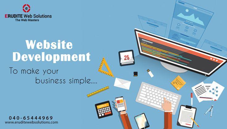 Website Development :- To make your business simple.... more info-> http://www.eruditewebsolutions.com/services.php #WebsiteDevelopment #Development #WebDesigning #WEBDEVELOPMENT
