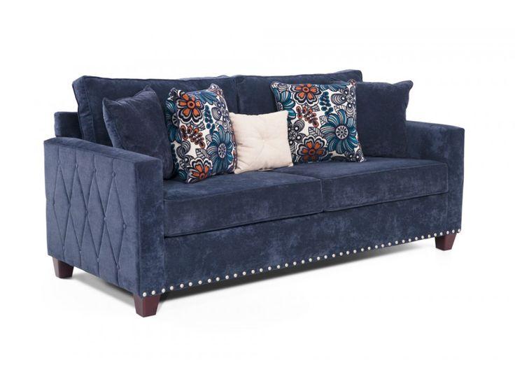 Sleeper Sofa Includes Queen Bob-O-Pedic Gel Mattress