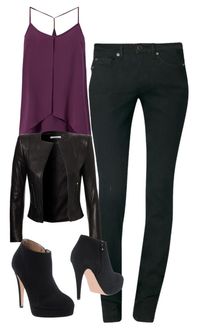 """""""Katherine Pierce Inspired Outfit"""" by mytvdstyle ❤ liked on Polyvore featuring Calvin Klein, Good-On-Heels, women's clothing, women's fashion, women, female, woman, misses, juniors and Inspired"""