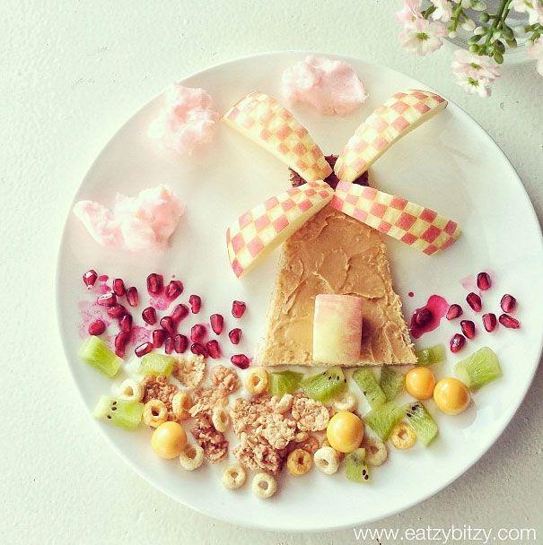 Desayunos sanos y divertidos para niños