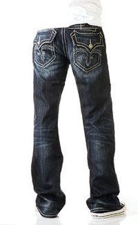 Rock Revival Mick Bootcut jeans for men
