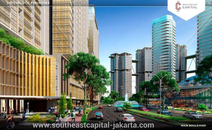 Southeast Capital Jakarta Main Boulevard.