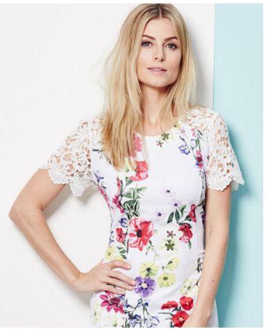 JD Williams pretty floral dress
