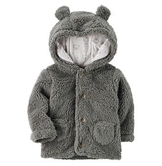 Carter's® Baby Hooded Sherpa Jacket