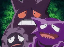 pokemon mine pokemon gif gengar Haunter gastly pokemon gifs