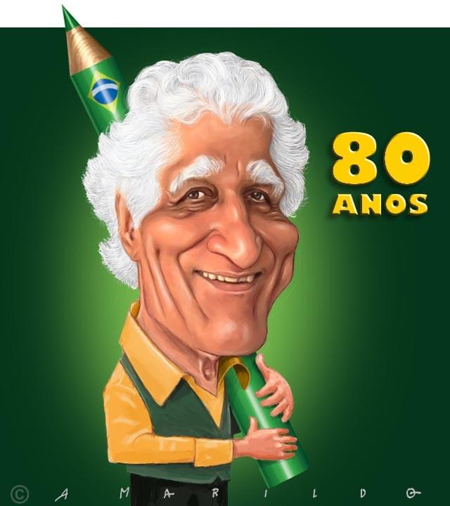 Ziraldo Caricatura - 80 Anos: Ziraldo Caricatura 80 Anos Jpg, Charging Caricatura, Caricatura Amarildo, Caricatura Ems