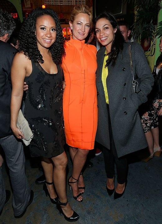 Tracie Thoms, Zoe Bell, & Rosario Dawson Tribeca Film Festival 2013