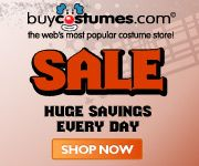 Huge Sale! at BuyCostumes.com