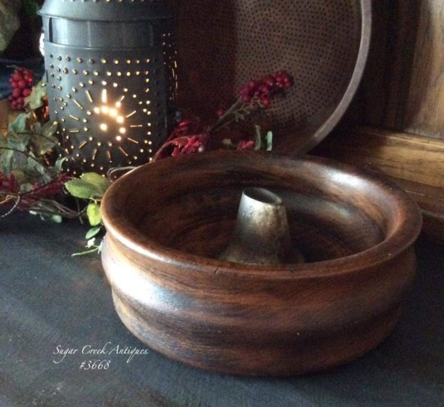 Beautiful antique tobacco bowl ~ available for purchase at Old Farmhouse Market/Sugar Creek antiques!