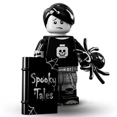 LEGO Minifigures Series 16 (5) Spooky Boy - my actual collection