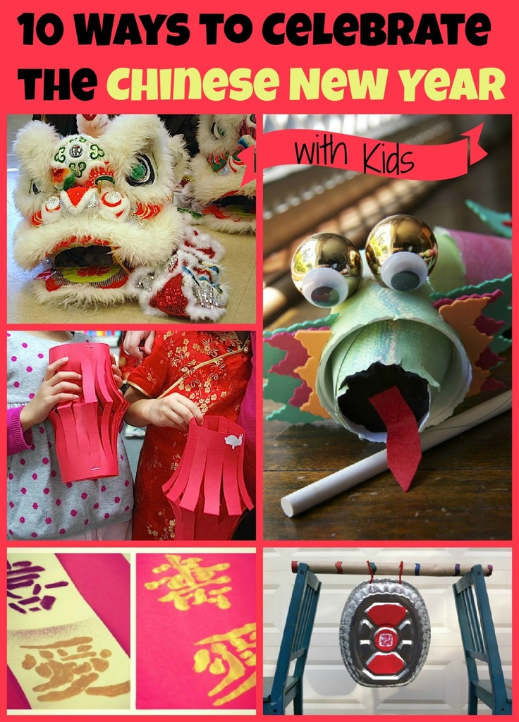 10 Ways to Celebrate Chinese New Year: Kid's Co-op from Reading Confetti