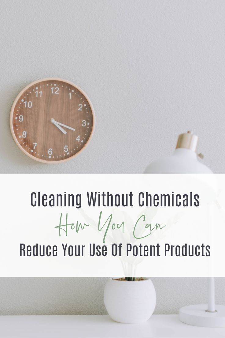 Cleaning Without Potent Products in 2020 Cleaning