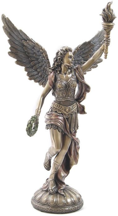 Nike With Torch Figurine Statue from the Greek and Roman ...