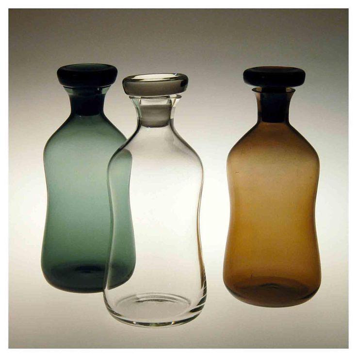 "1,369 Likes, 4 Comments - Richard Petit (@the.archers.inc) on Instagram: ""Pharmacist Bottles (1950) Heinrich Löffelhardt, executed by Gral-Glas-Werkstätten, Göppingen.…"""