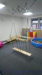 Kładka do ćwiczeń równoważnych - 1 elementowa