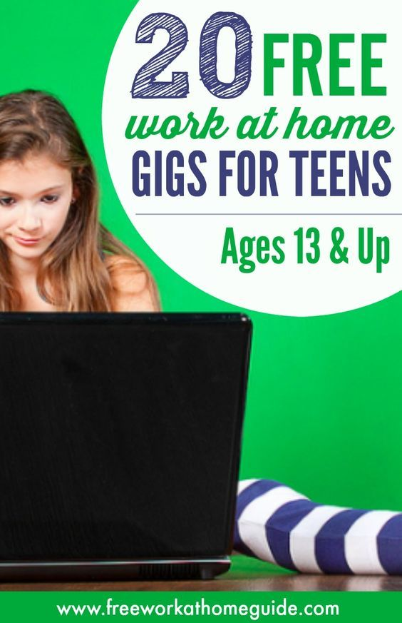 There are 20 free ways teens can earn money doing easy online tasks from home. The only thing you'll need is a computer, internet, and a desire to work.