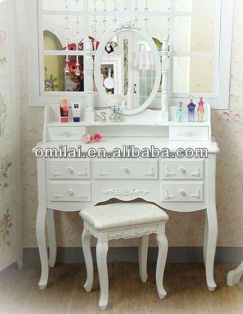 di legno classico tavolo trucco con specchio armadio-Cassettone-Id prodotto:692813988-italian.alibaba.com